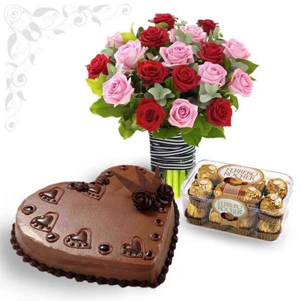 Roses and Ferrero Combo