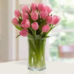 Pink Tulips Arrangement
